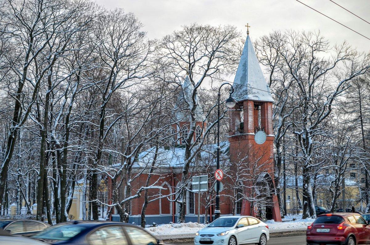 Церковь Рождества Иоана Предтечи на Каменном острове - Юрий Тихонов