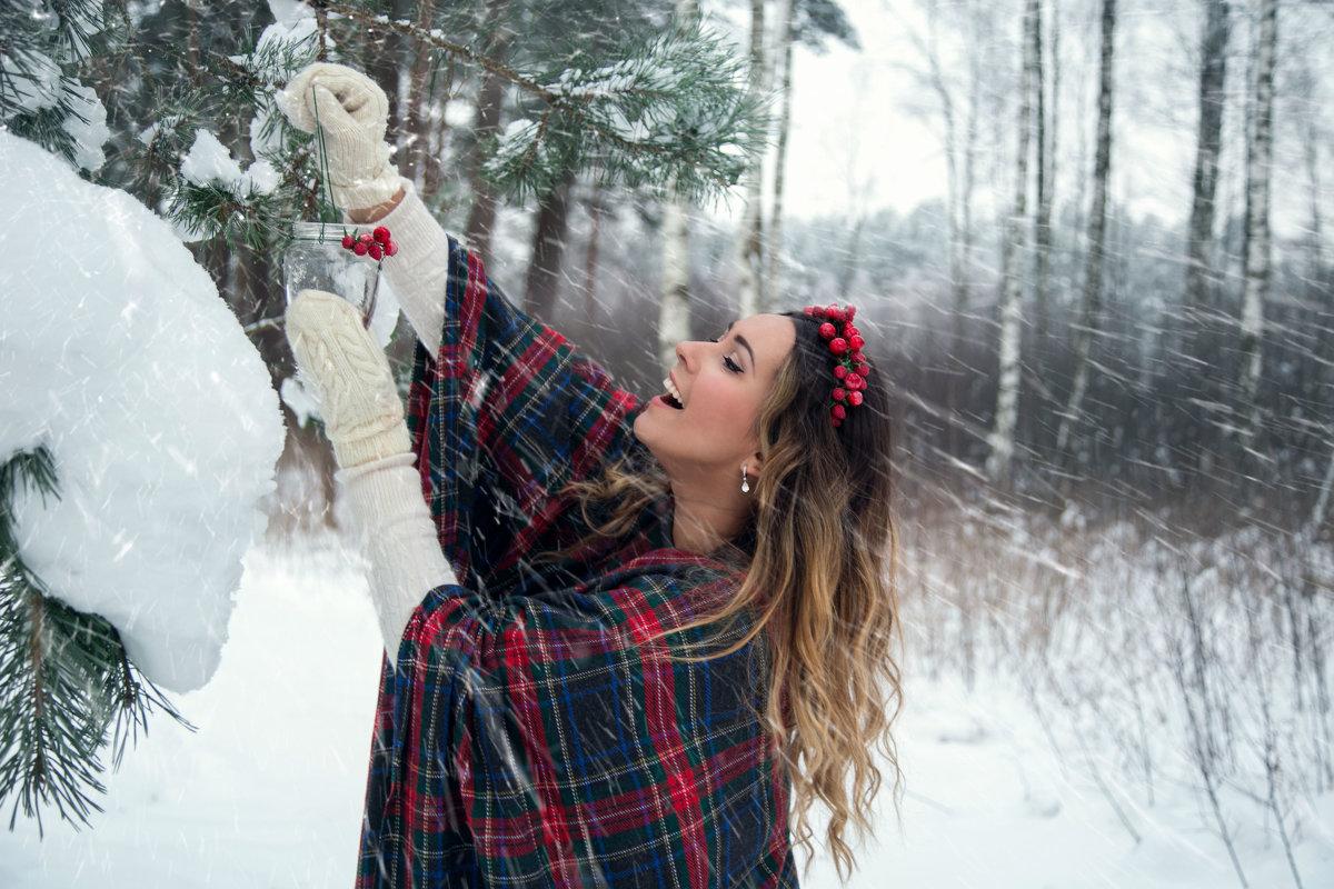 Зимний уют - Александра Гущина