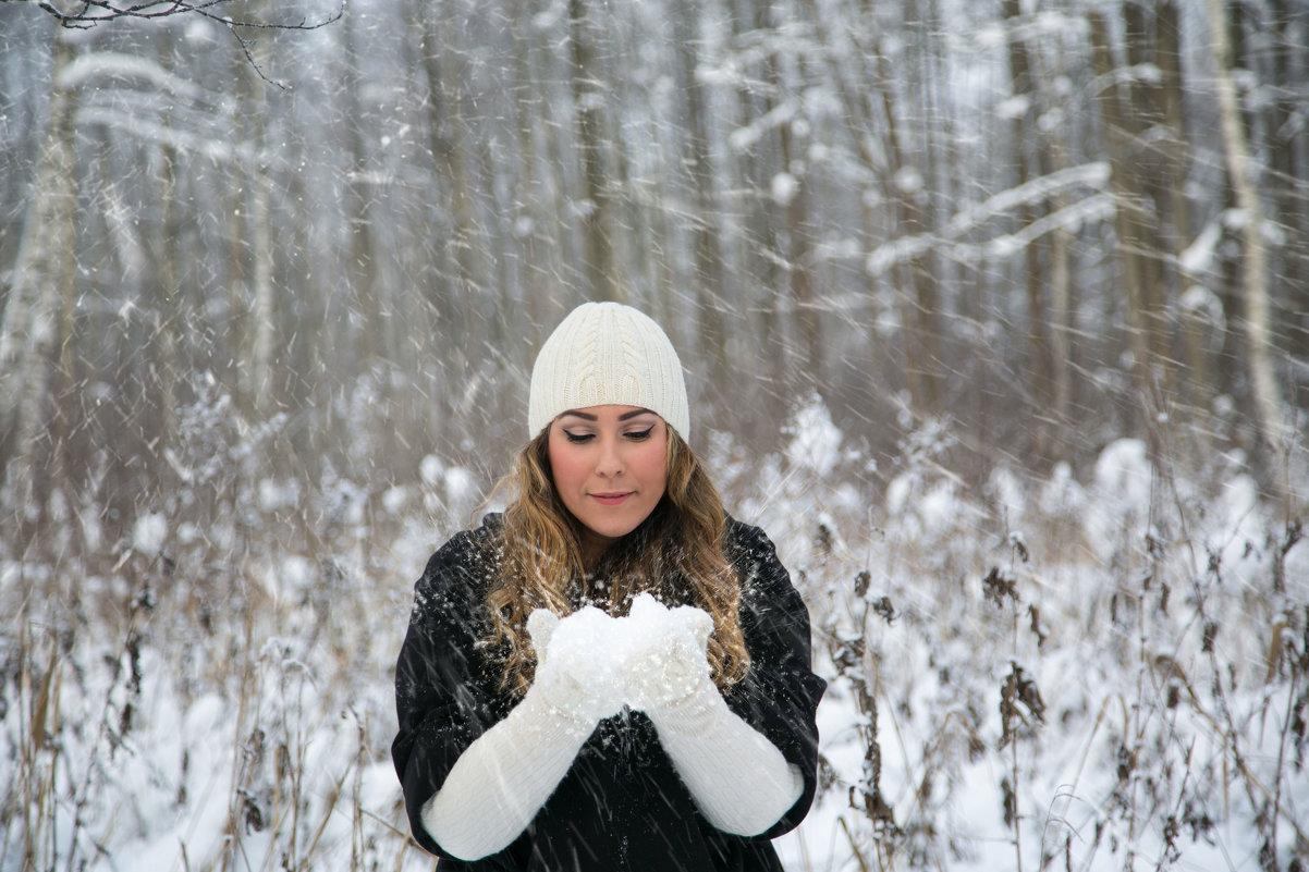 Зима - Александра Гущина