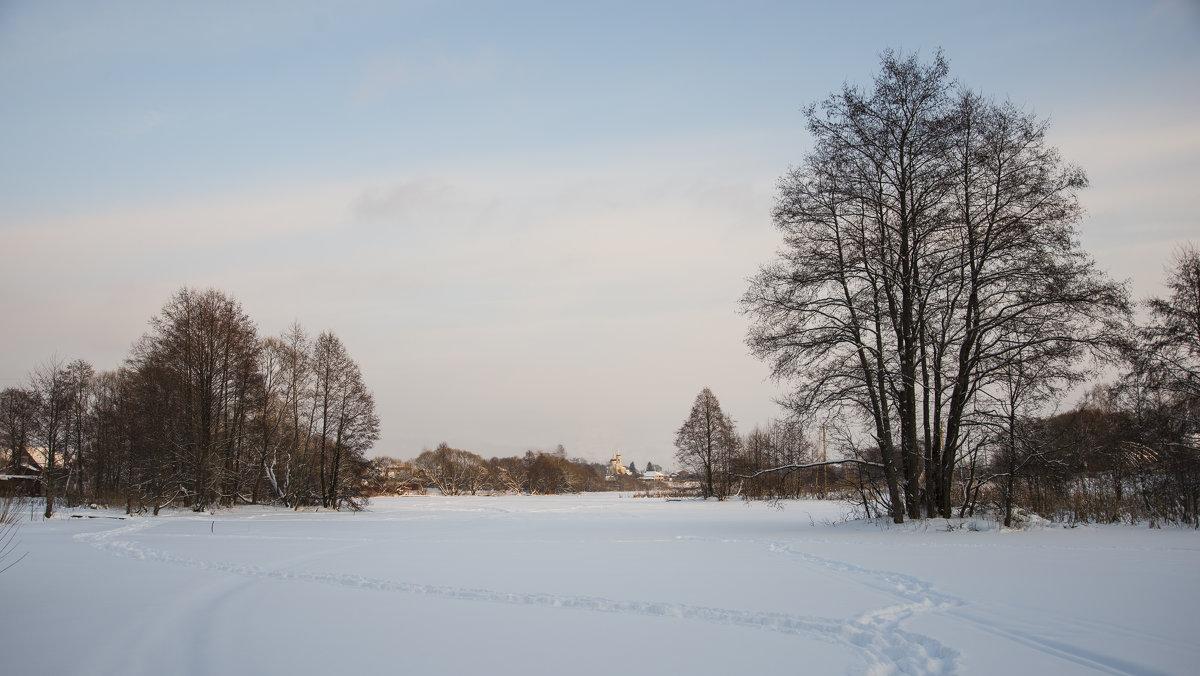 Зимний вечер - Михаил Онипенко