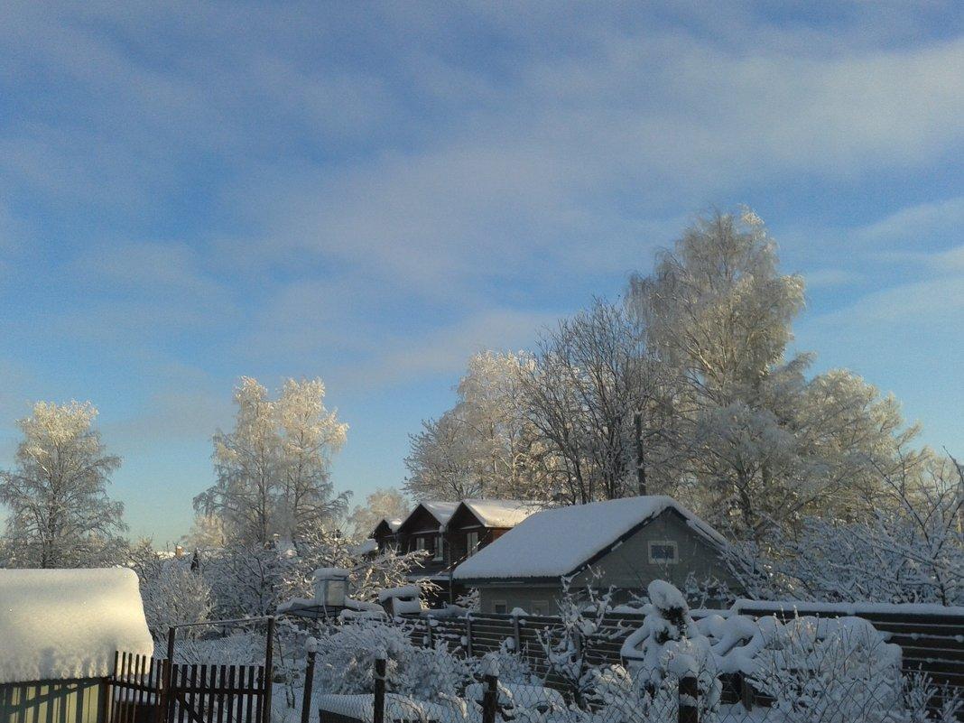 Зима в деревне - Ольга Романова