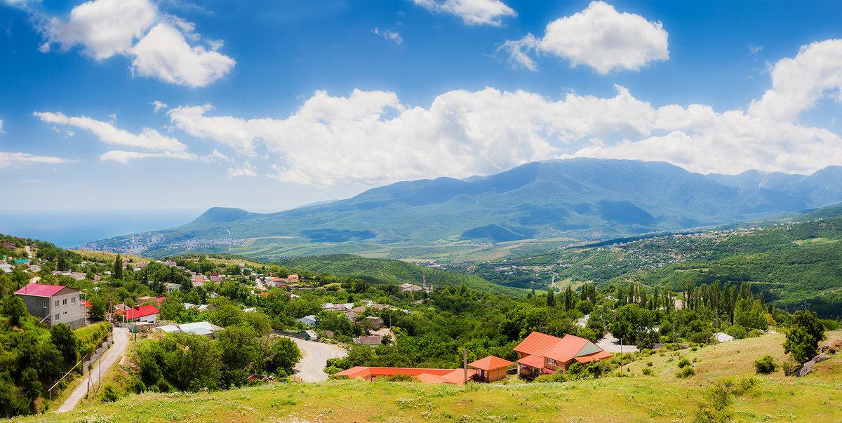 Горная деревня - Алена Бадамшина
