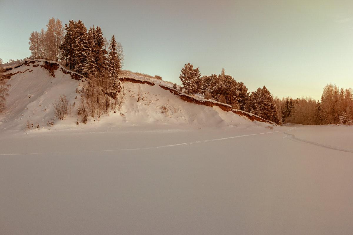 холодный январь - Светлана