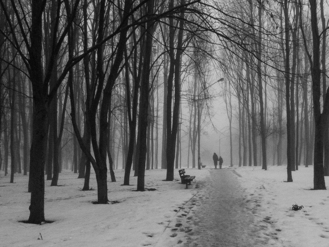 Туманный вечер.... - Леонид Соболев
