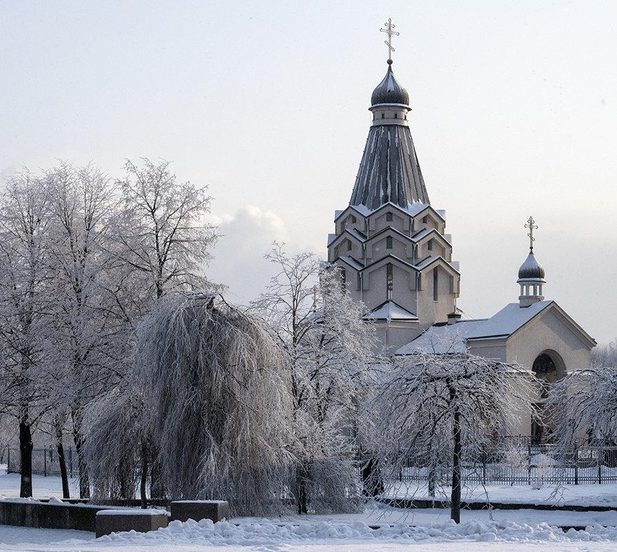 Церковь зимой - VL