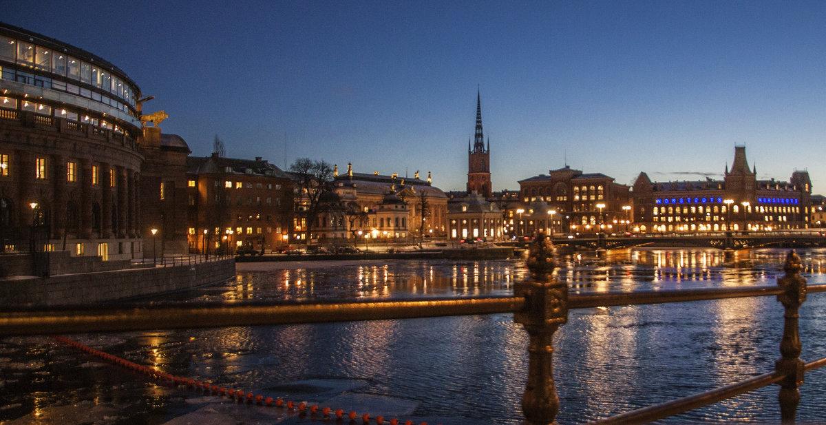 вечерний Стокгольм - liudmila drake