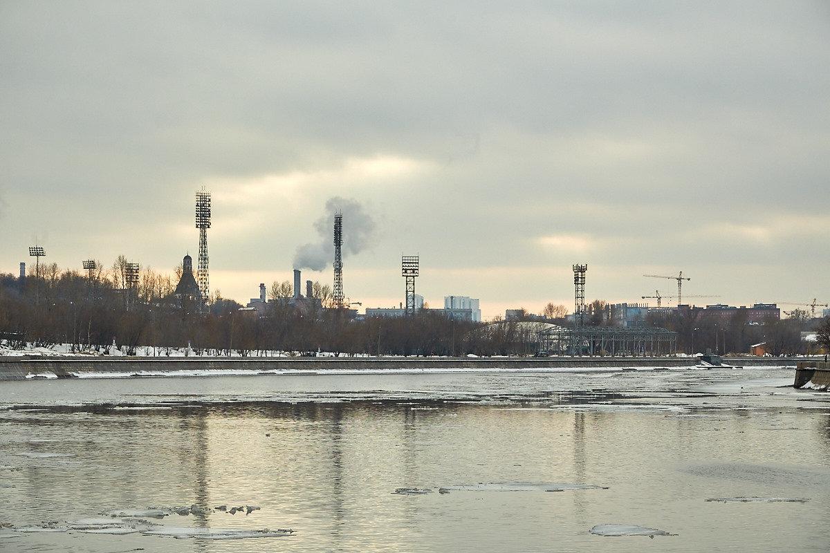 Москва-река. - Viktor Nogovitsin