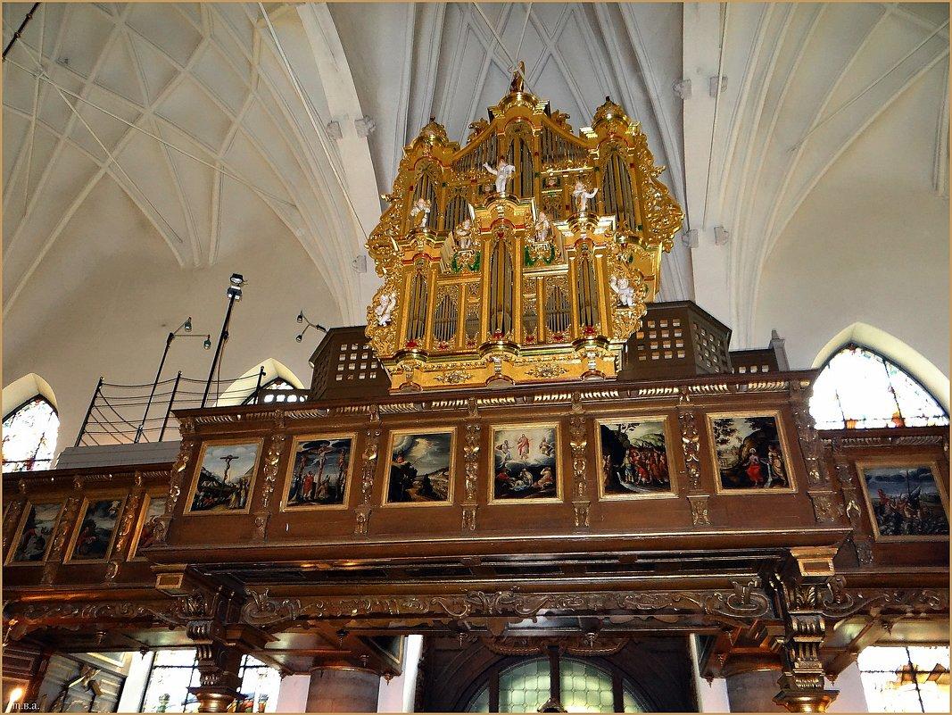 Орган в церкви Святой Гертруды - Вера