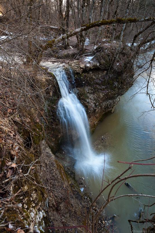 Водопад на реке Кизинка - Владимир Куц