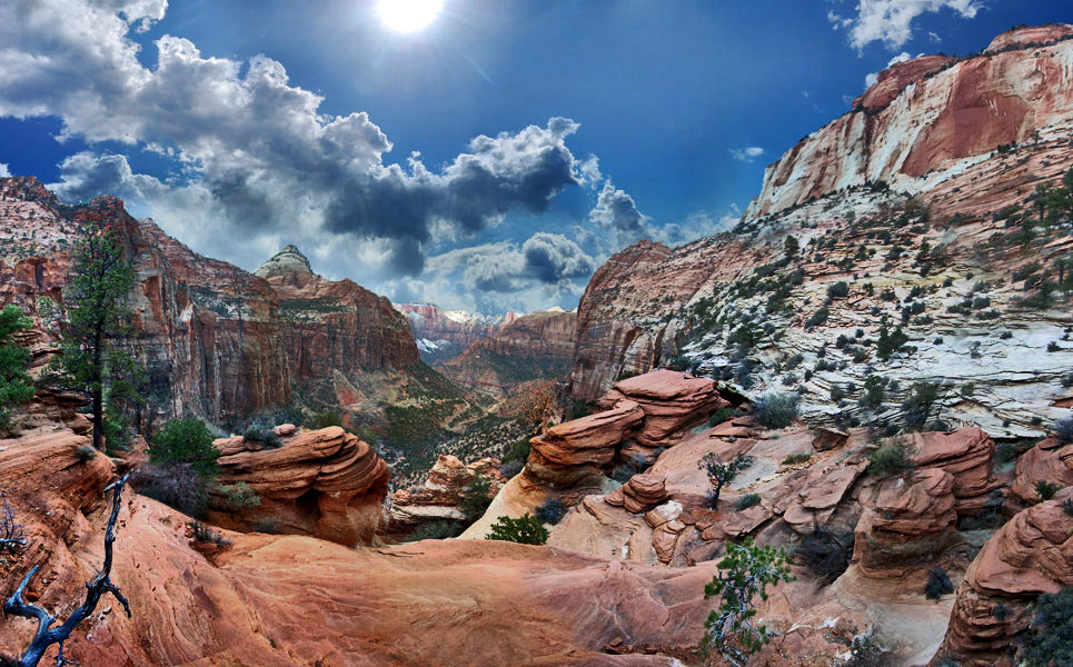 вид каньона Overlook - viton
