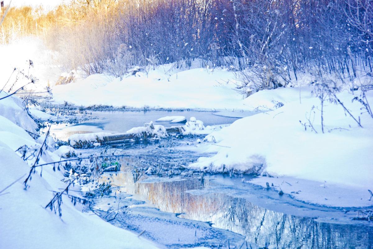 зима - vika EGOROVA