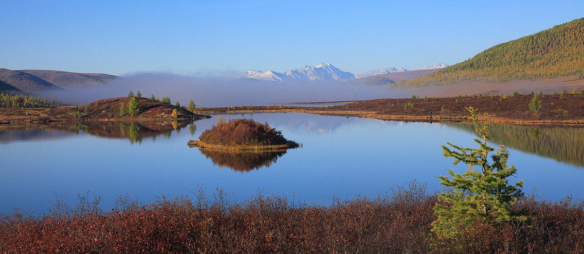 Панорама озера Ильчир. Окинские плато. Исток реки Иркут - Владимир Собардахов
