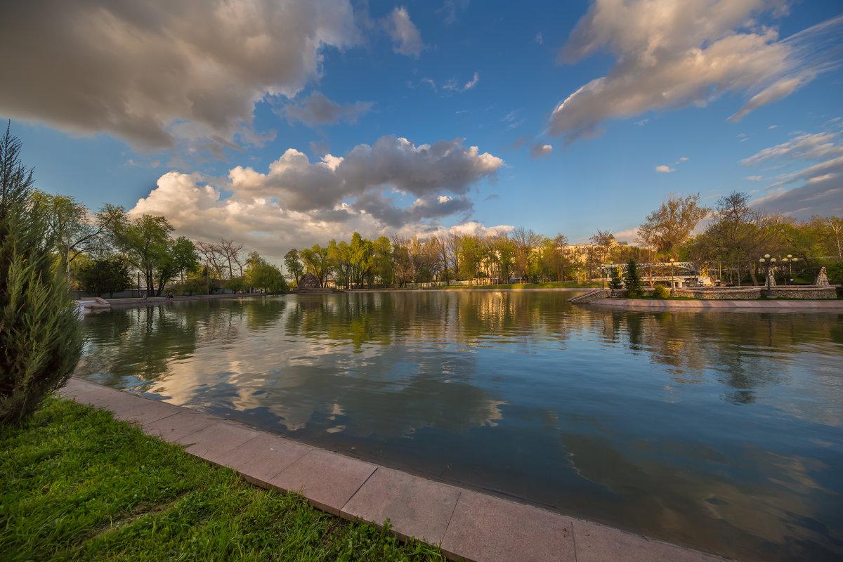 Закат на озере - Марат Макс