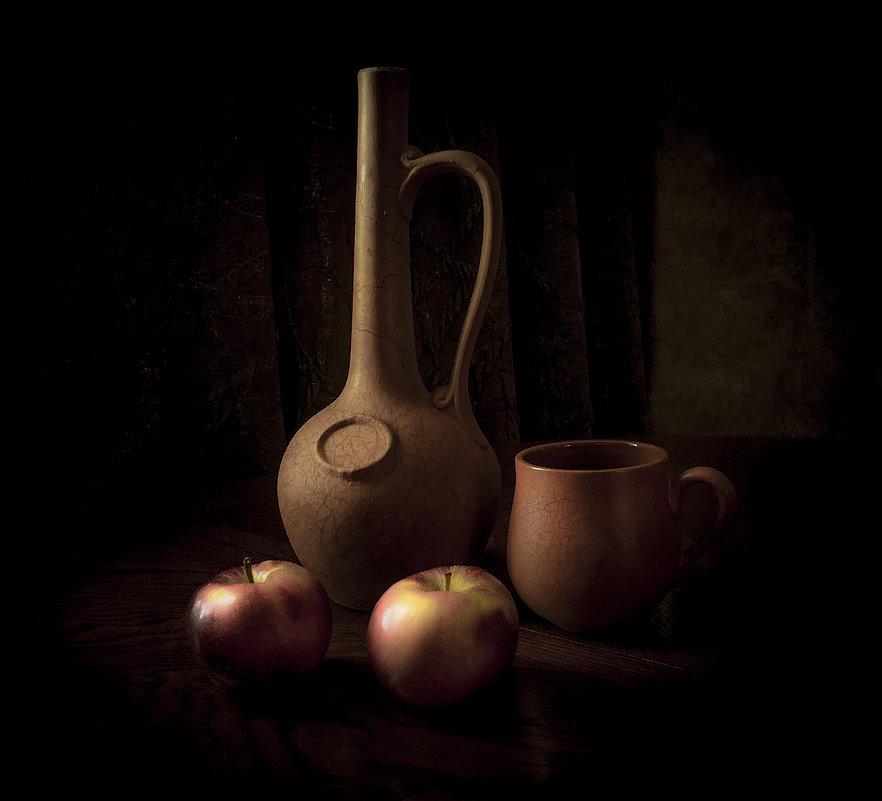 Кувшин с яблоками - Алексей Строганов