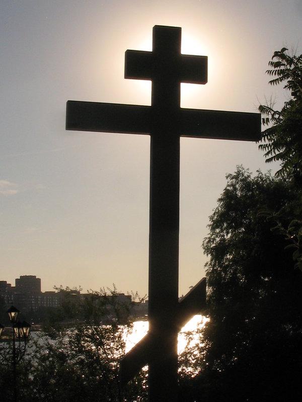 Божественное сияние креста... - Алекс Аро Аро