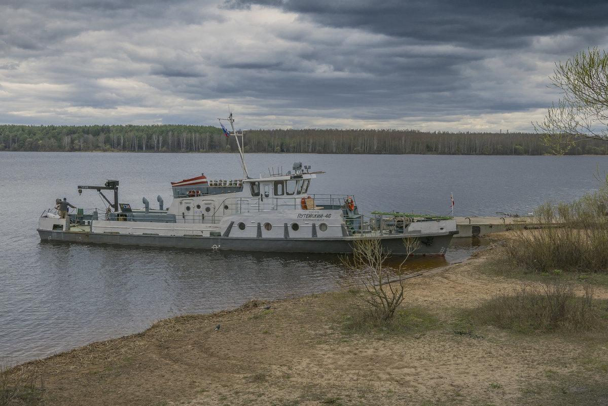 Флагман Конаковского флота - Михаил (Skipper A.M.)