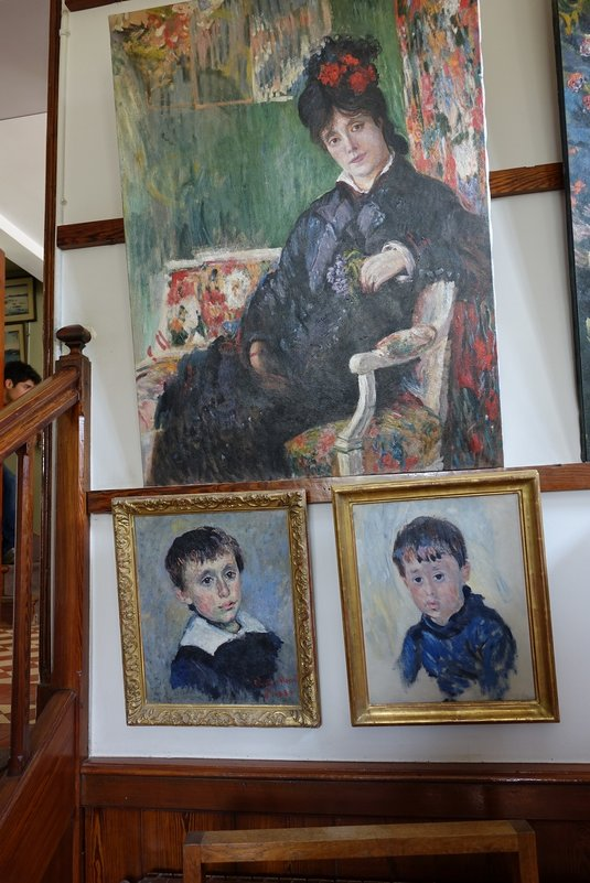 Жена и сыновья Клода Моне - Михаил Сбойчаков
