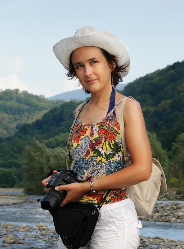 подруга на отдыхе - Анна Семенова