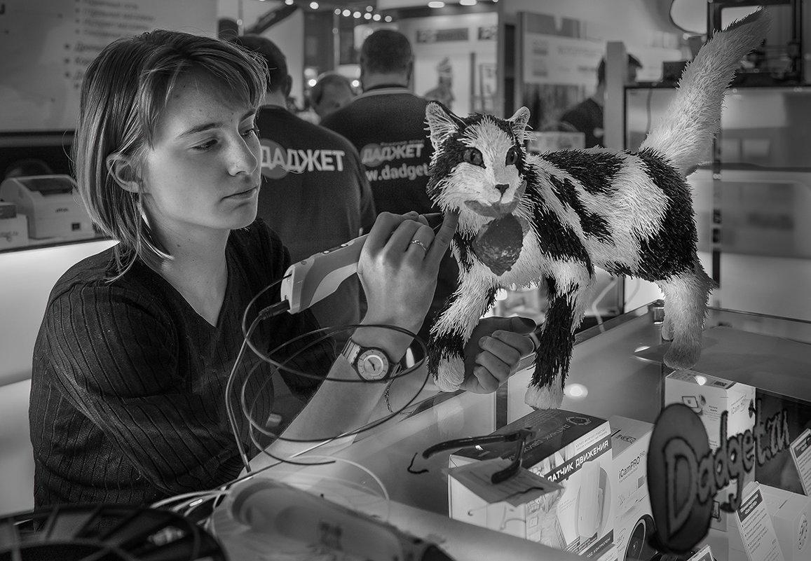 3D-рисование кота - Алексей Окунеев