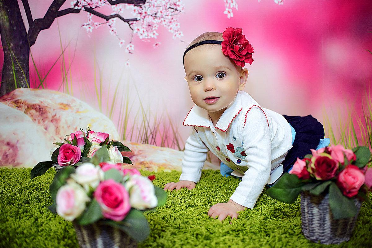 Детская фотосессия в студии Аквамарин - марина алексеева