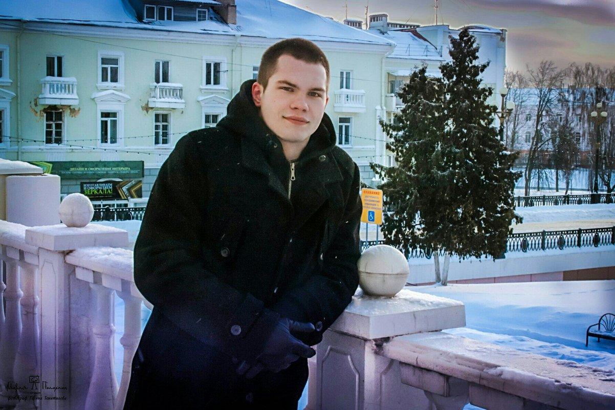 Зима в центре города Орла - Галина Тенитилова