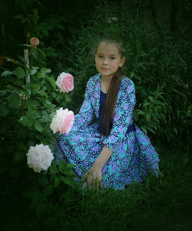 портрет с розами - Сергей