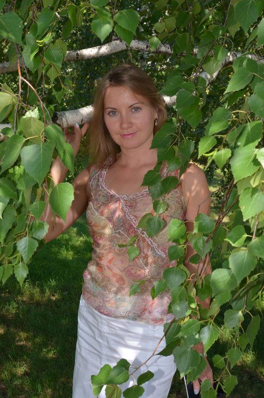 В листьях березы - Сергей Тагиров