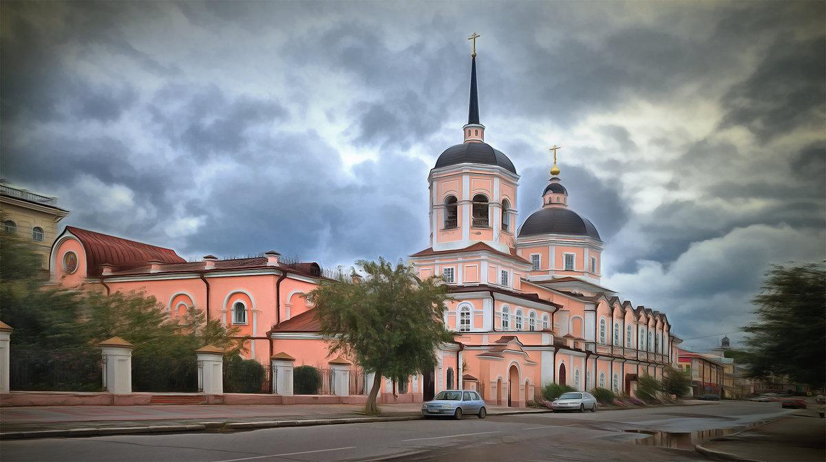 Богоявленский собор. Томск, август - Edward Metlinov