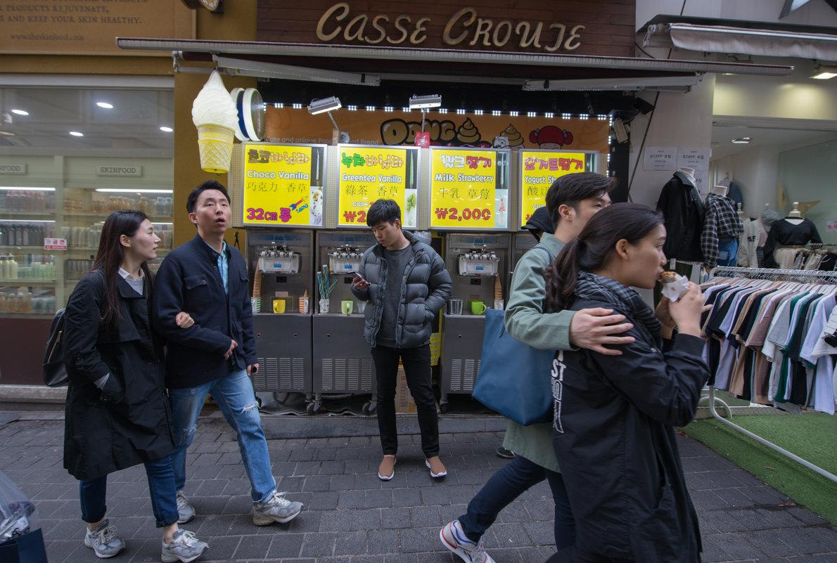 Seoul (спонтанный стрит 5-8) - Sofia Rakitskaia