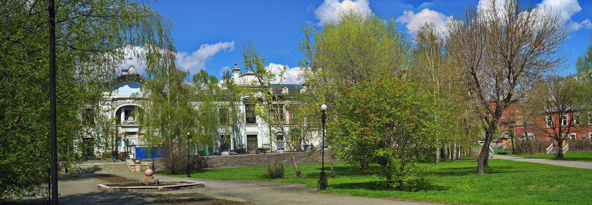 Весна в старом Бийске. - Владимир Михайлович Дадочкин