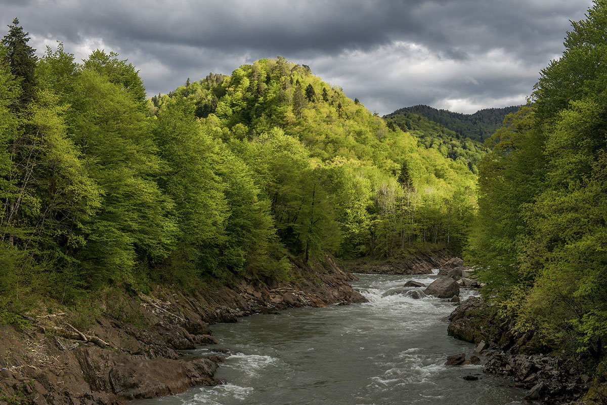 Река Белая - Аnatoly Gaponenko