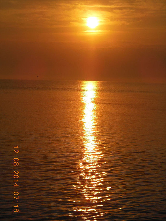 закат на Черном море - игорь