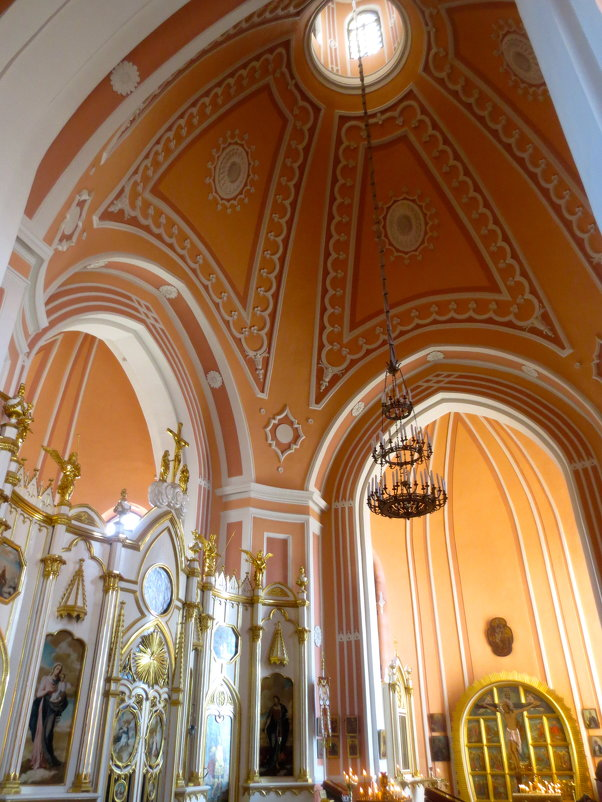 своды Чесменской церкви - Елена