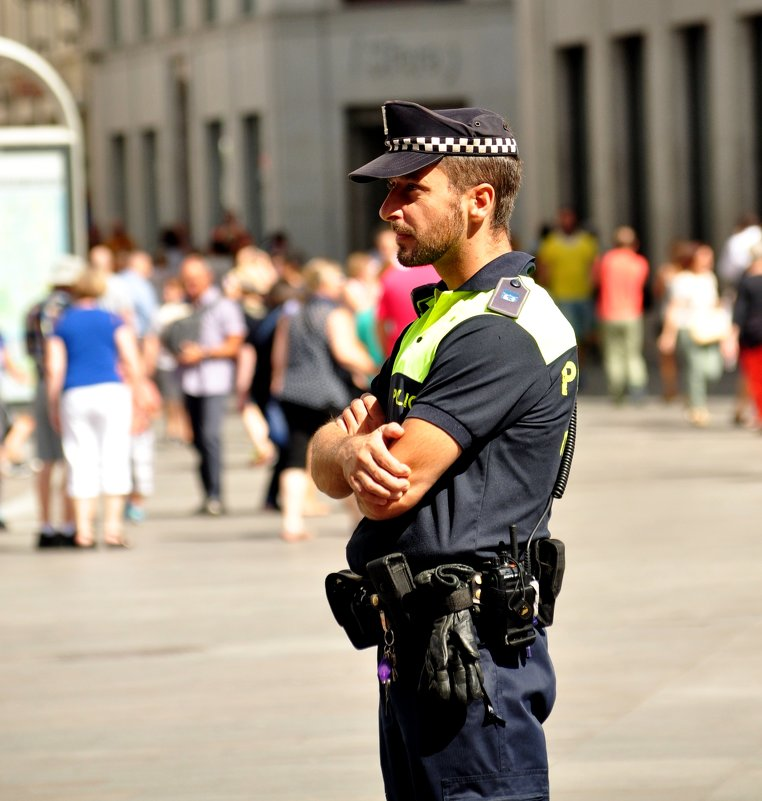 Policía Municipal Madrid. - Юлiя :))