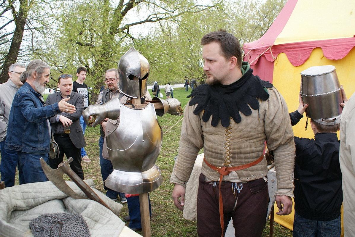 Турнир Святого Георгия:  персонажи праздника... - Николай Дони