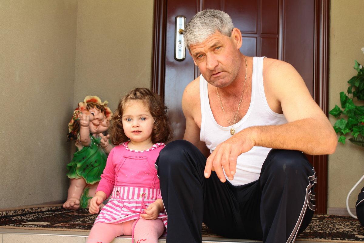 Внучка с дедом - Сергей