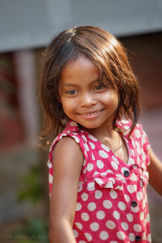Khmer girl - Oleksii Roshka