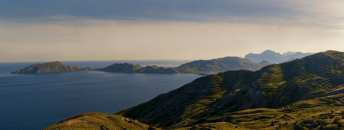 Панорама Двухякорной бухты - Глеб Буй