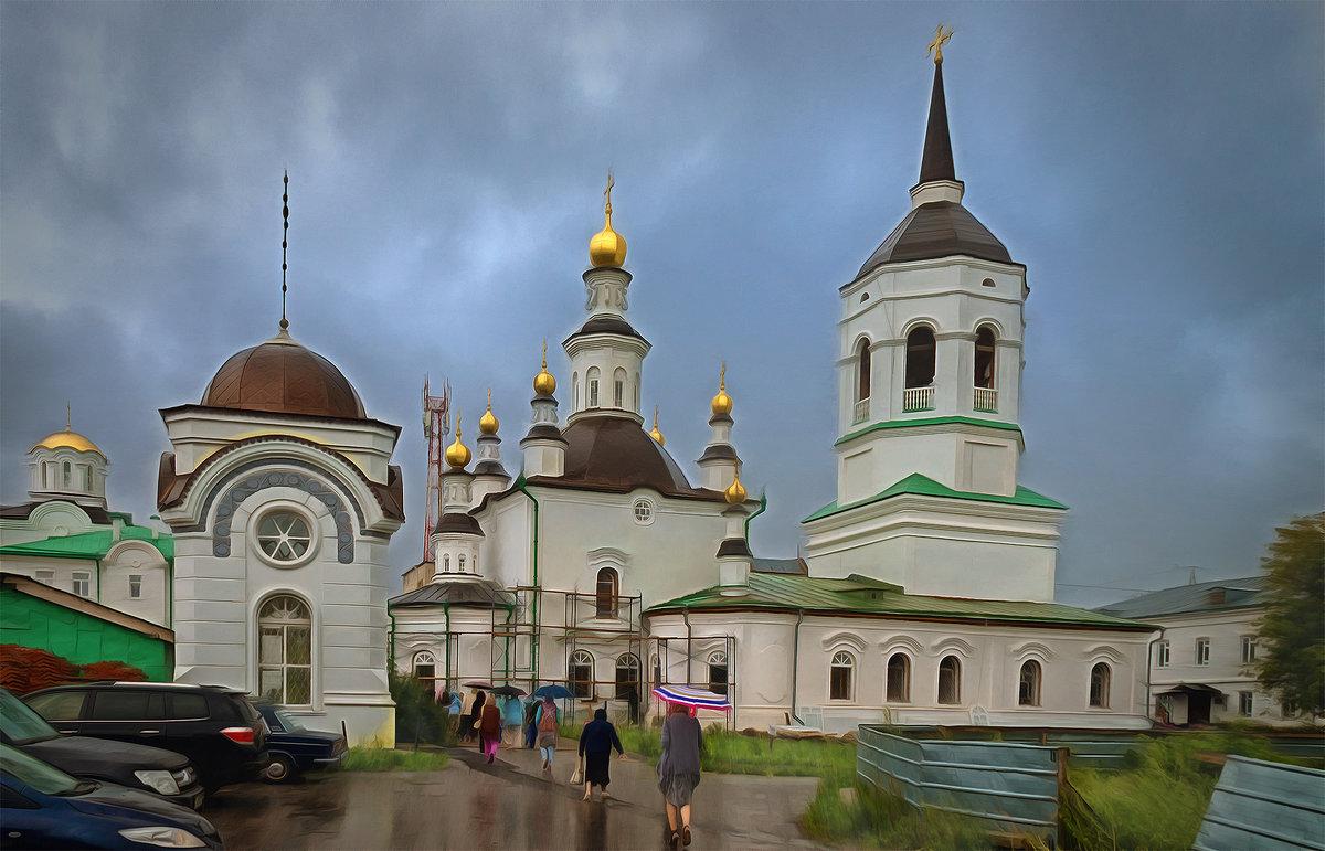 Церковь Казанской иконы Божией Матери. Томск, август - Edward Metlinov