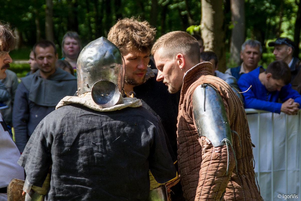 Напутствие рыцарей перед схваткой - Игорь Вишняков