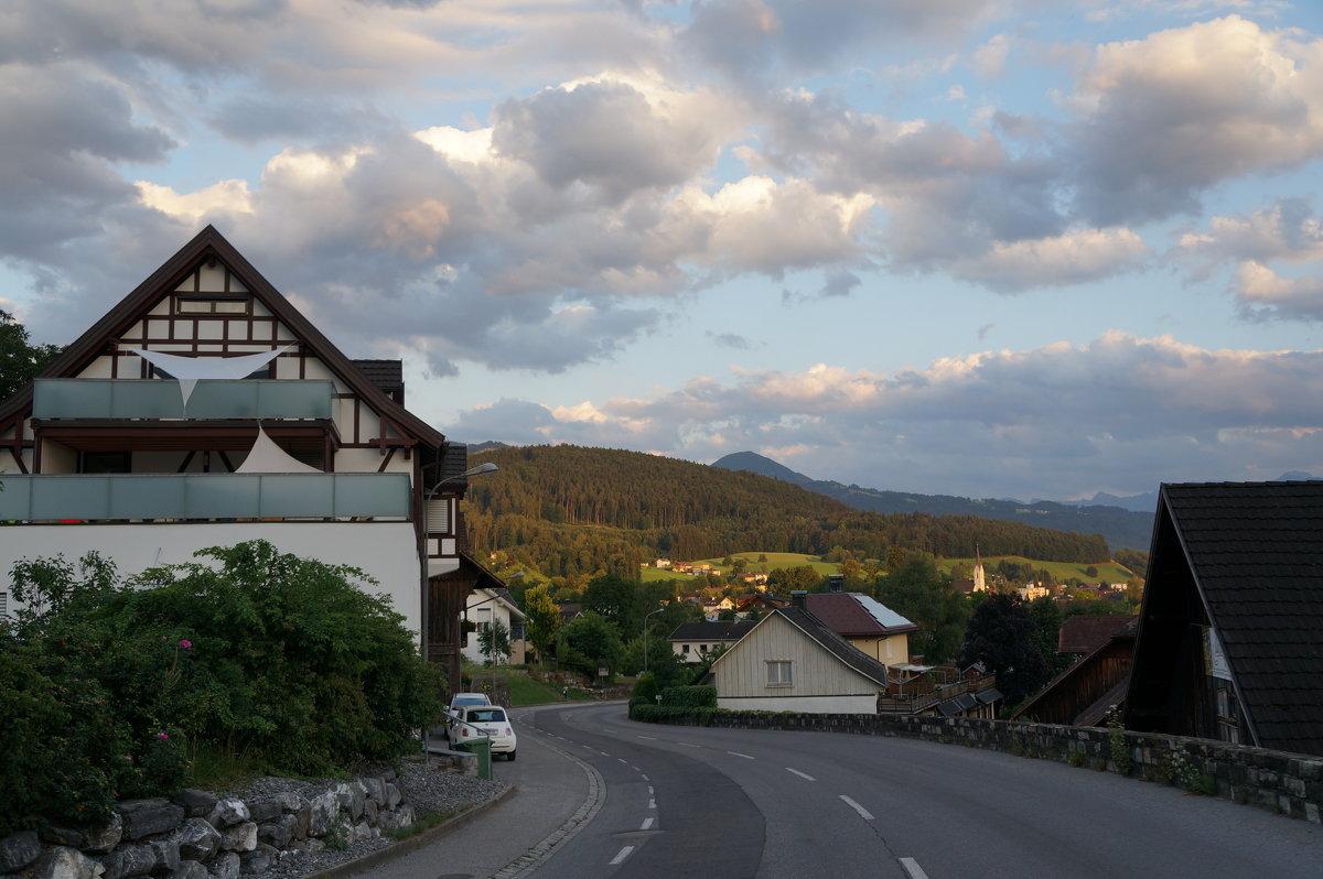 Тихий вечер в Альпах... - Алёна Савина