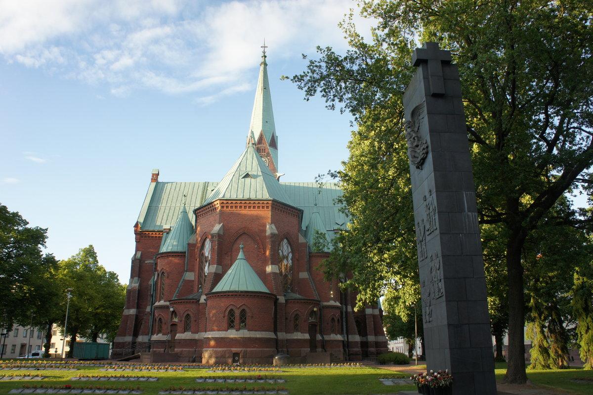 Лютеранский собор города Котка - Елена Павлова (Смолова)