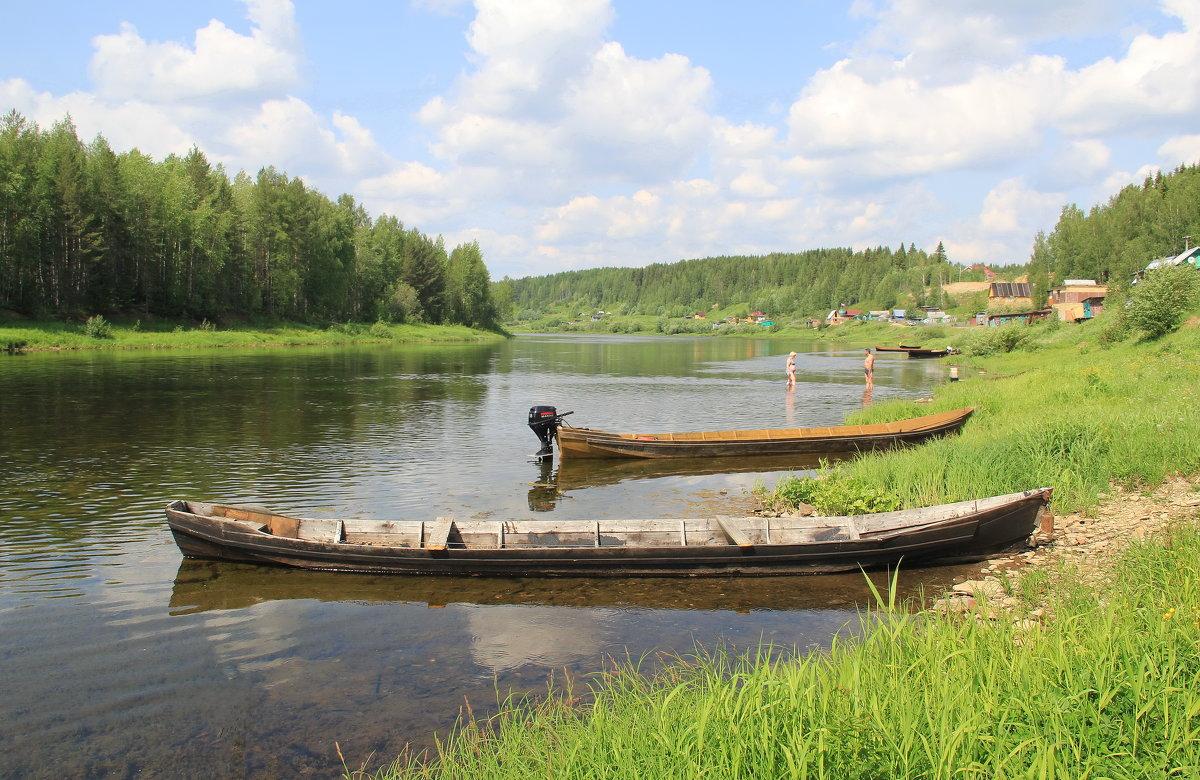 Речная лодка называется