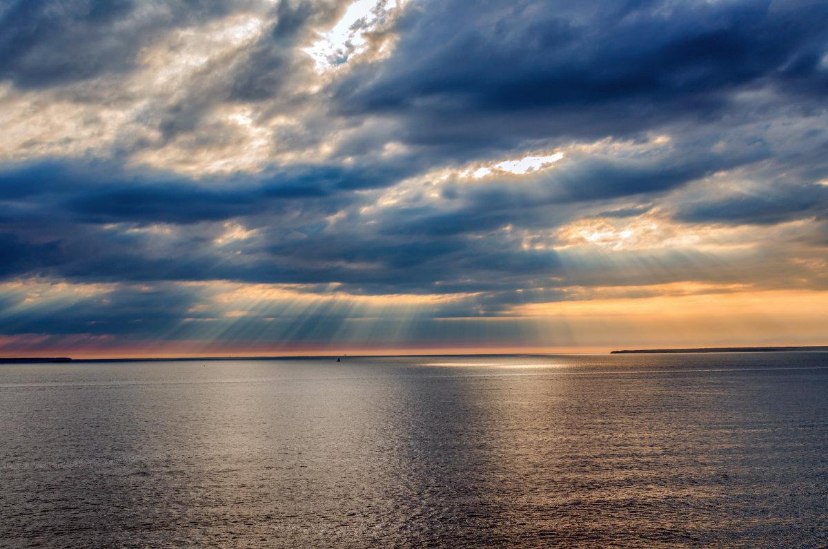 Закат над Балтийским морем - Людмила Финкель
