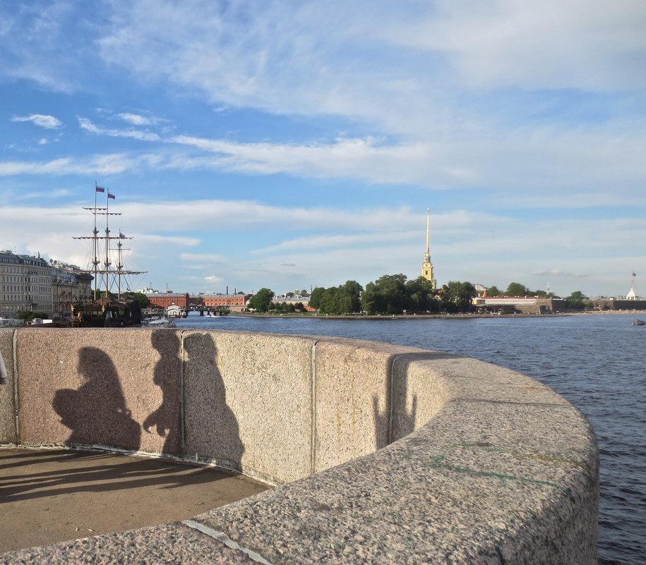 июльским днём в Петербурге - Елена