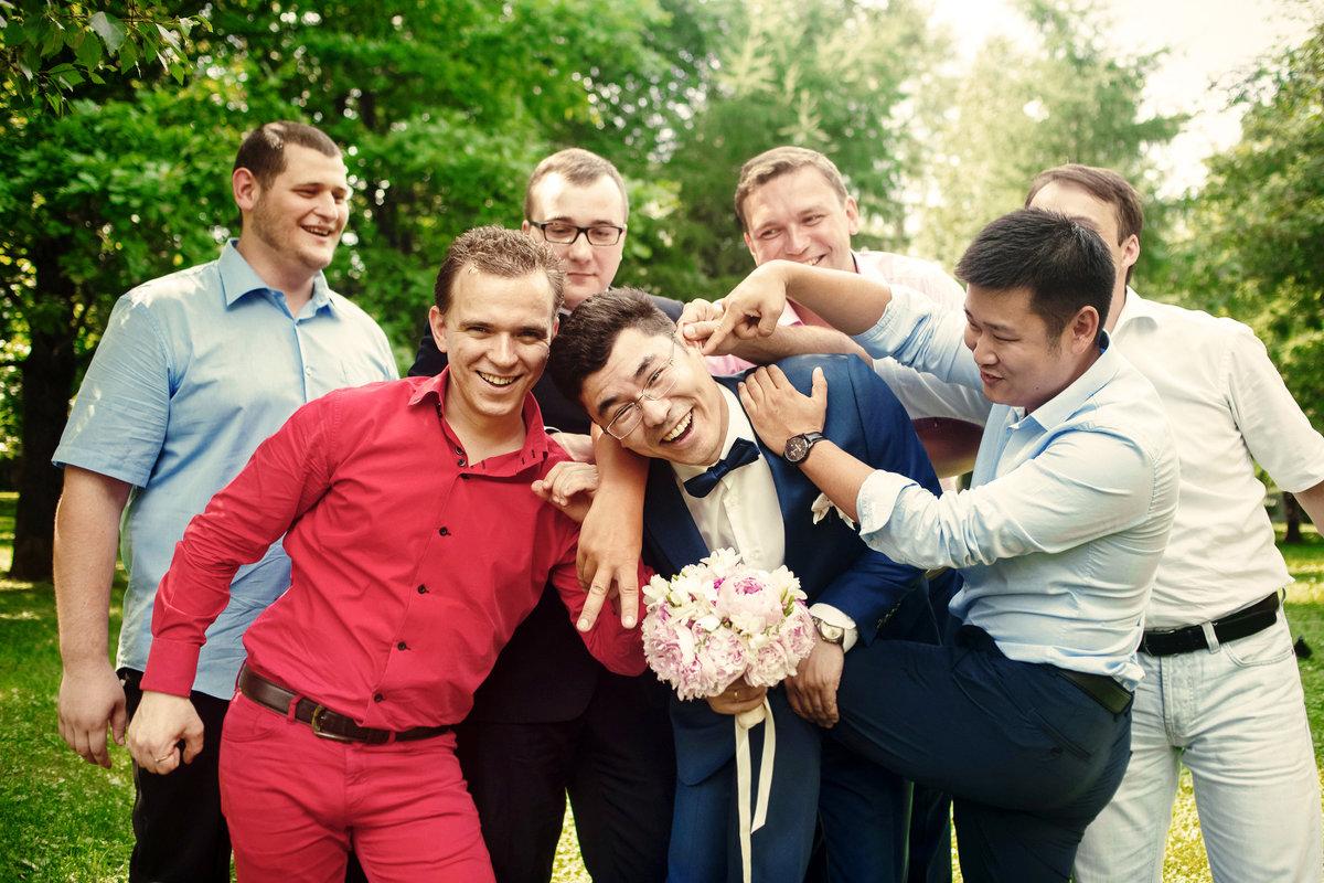 Жених с друзьями - Владимир Будков