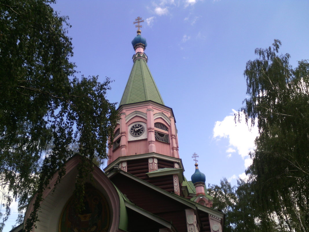 Храм Живоначальной Троицы в Наташине - Ольга Кривых