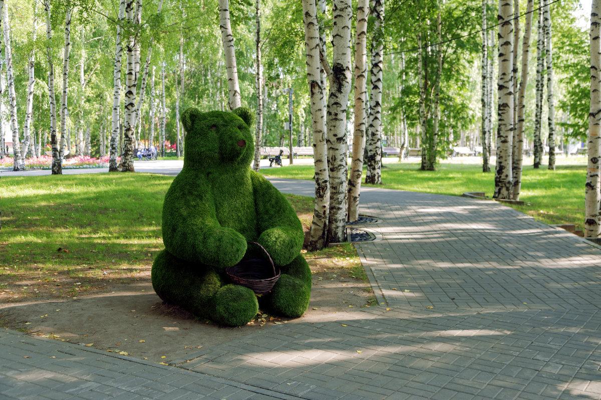 Мишка на детской площадке - Михаил Рехметов