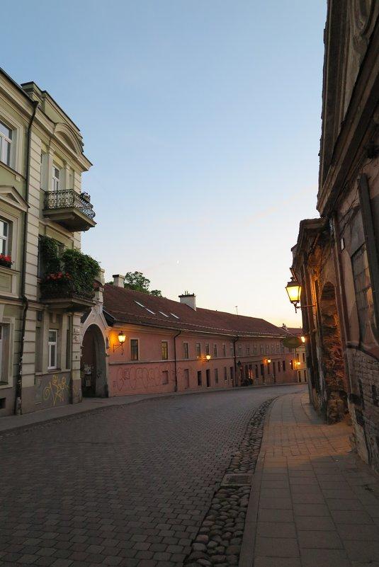 Вечерние улицы Вильнюса - Оксана Кошелева
