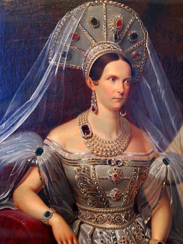 Портрет из Гатчинского дворца - Наталья